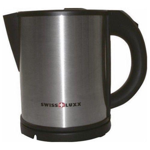 An image of Swiss Luxx 1Ltr Low Wattage Kettle - S/Steel
