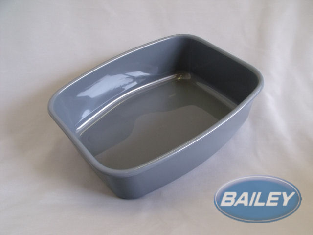 An image of Silver Plastic Sink Bowl