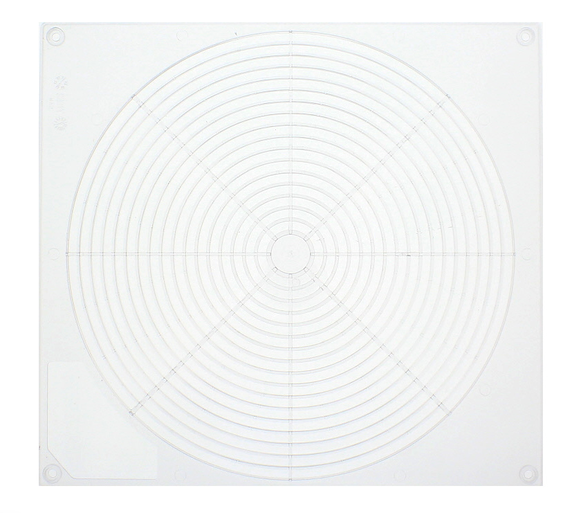 An image of Clear Ventilator Grid for 12v Omnivent