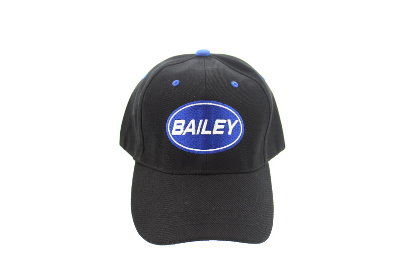 An image of Bailey Black Baseball Cap