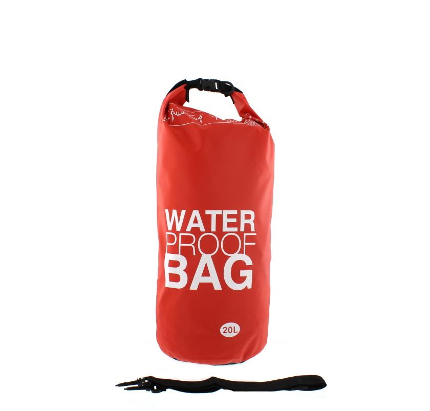 An image of PRIMA 20L Waterproof Bag - Red