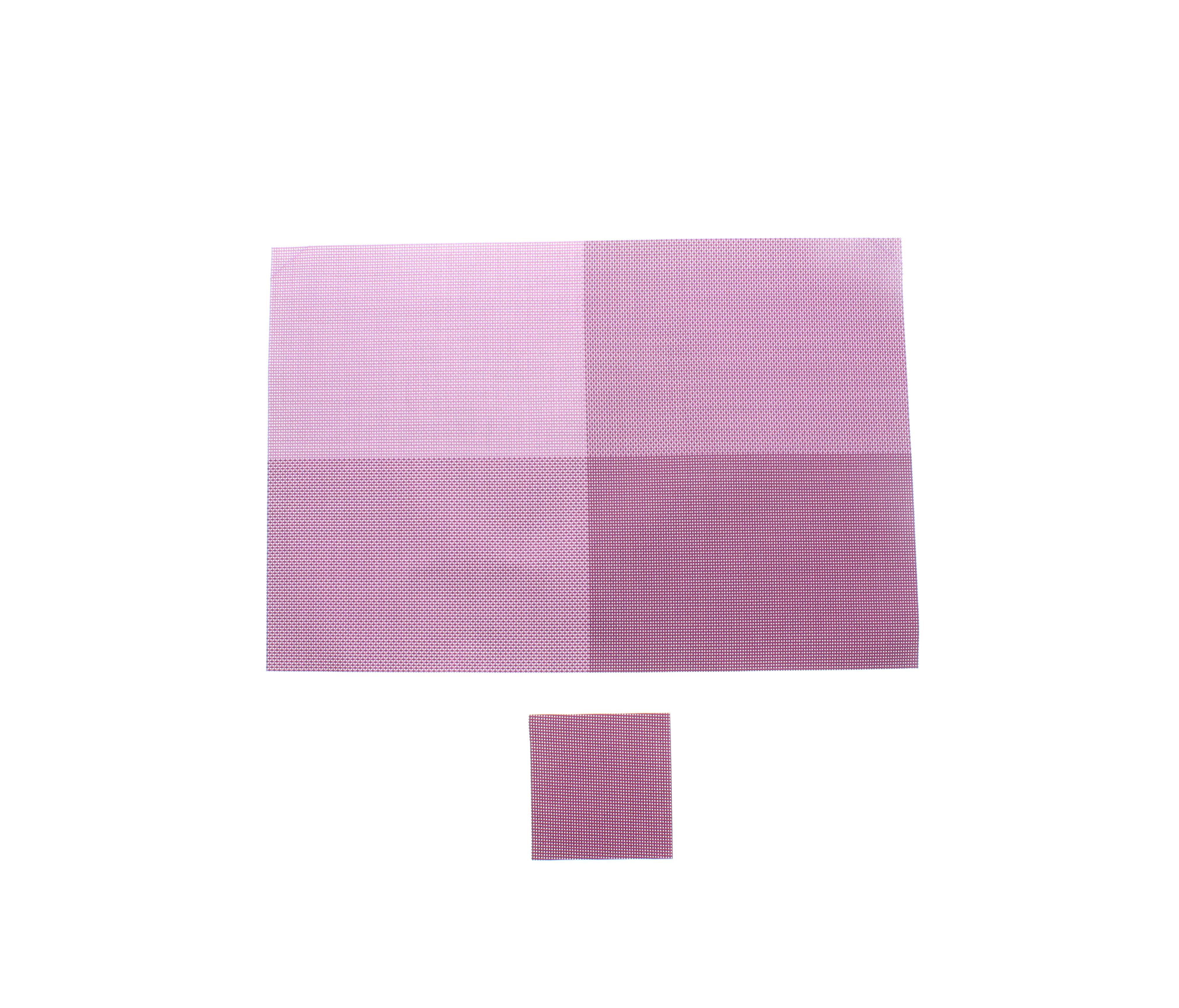 An image of PRIMA 12pc Placemat & Coaster Set - Purple