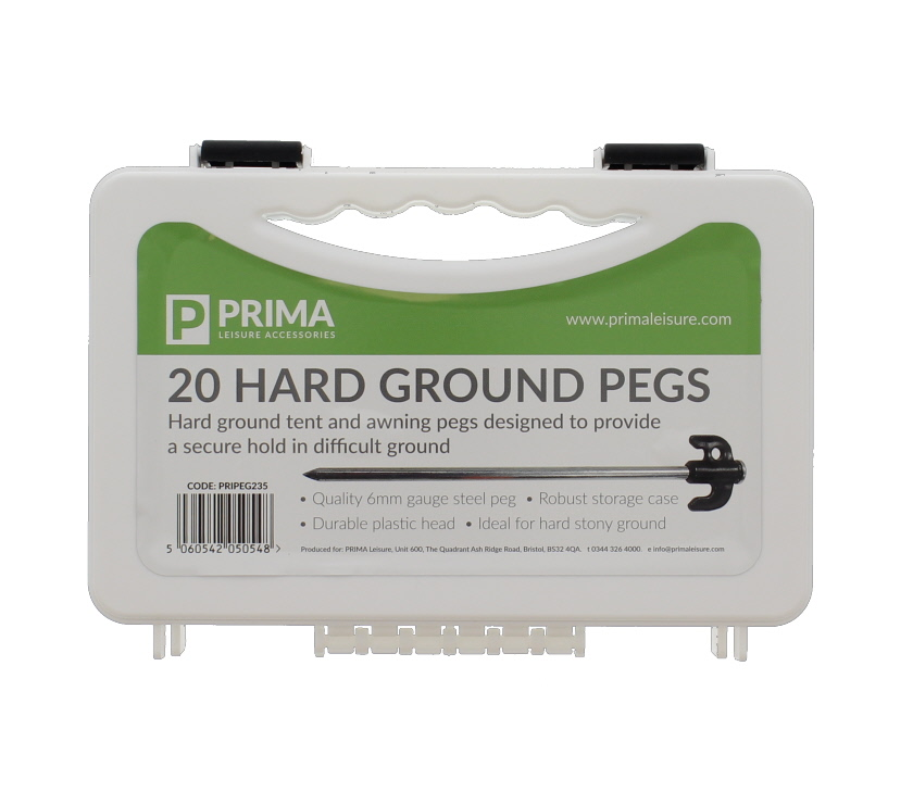 An image of PRIMA Hard Ground Tent Pegs