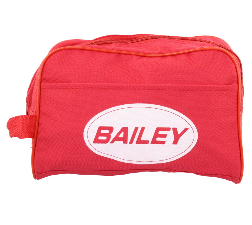 An image of Bailey Red Unisex Cosmetic Wash Bag