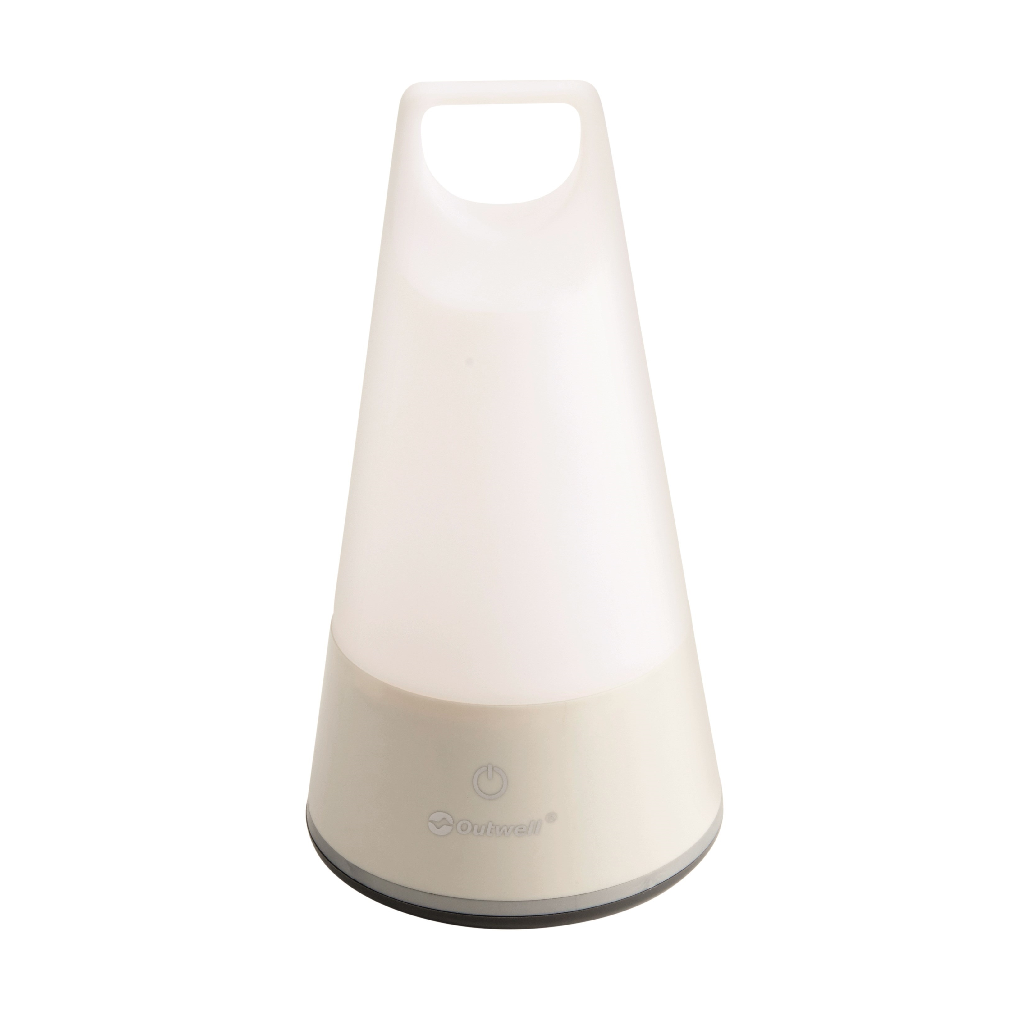 An image of Outwell Auriga Deluxe LED Touch Lamp Cream White