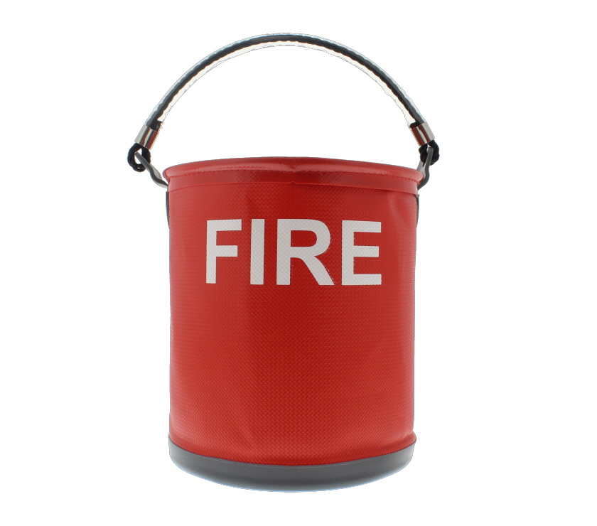 An image of Colapz Fire Bucket - Red