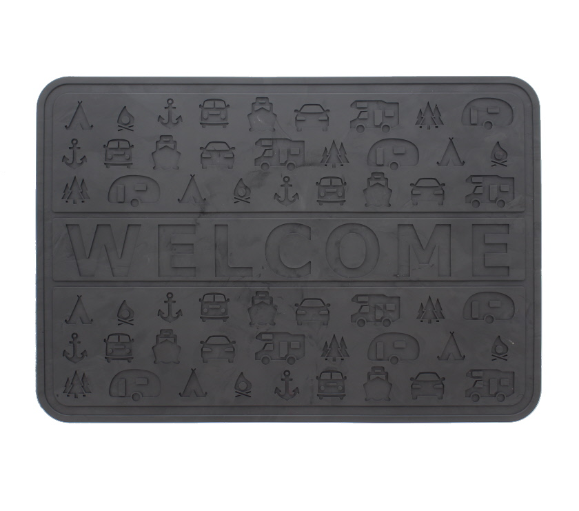 An image of Rubber Welcome Mat