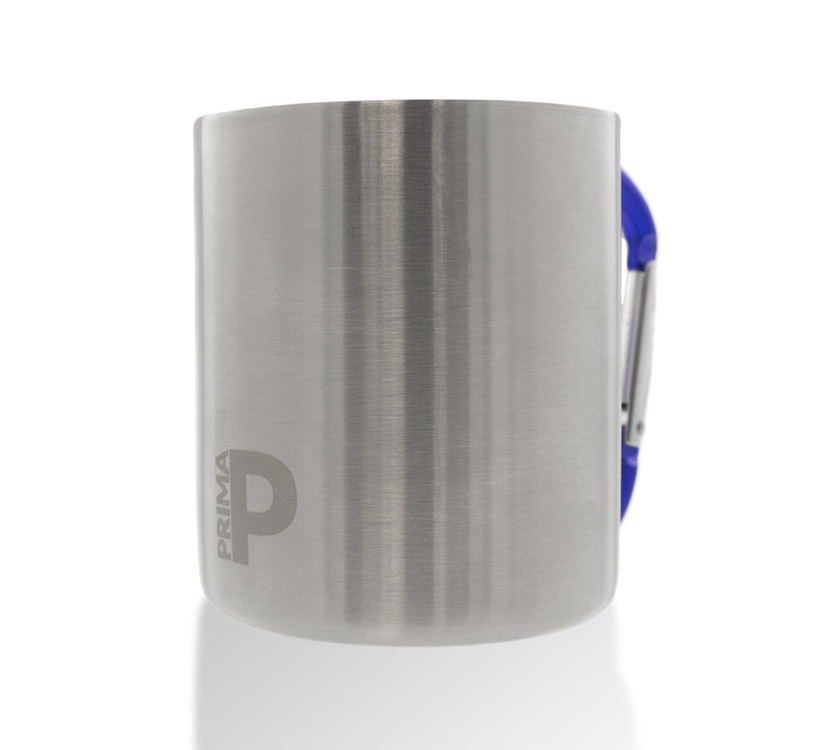 An image of PRIMA Stainless Steel Camping Cup Carabiner Clip